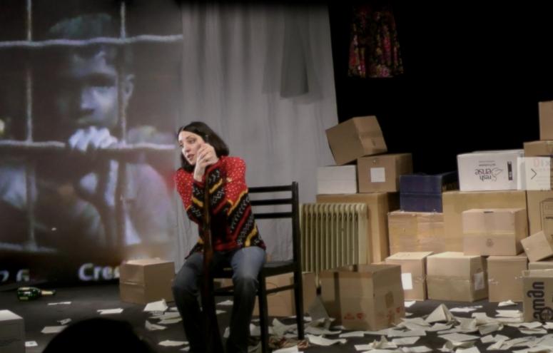 Juliet, Juliet!_Actress Ani Aladashvili_Photo © Liberty Theatre